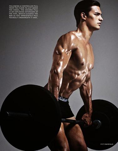 Photo: Sharif Hamza  Model: Matthew Terry  Fashion: Tom Van Dorpe