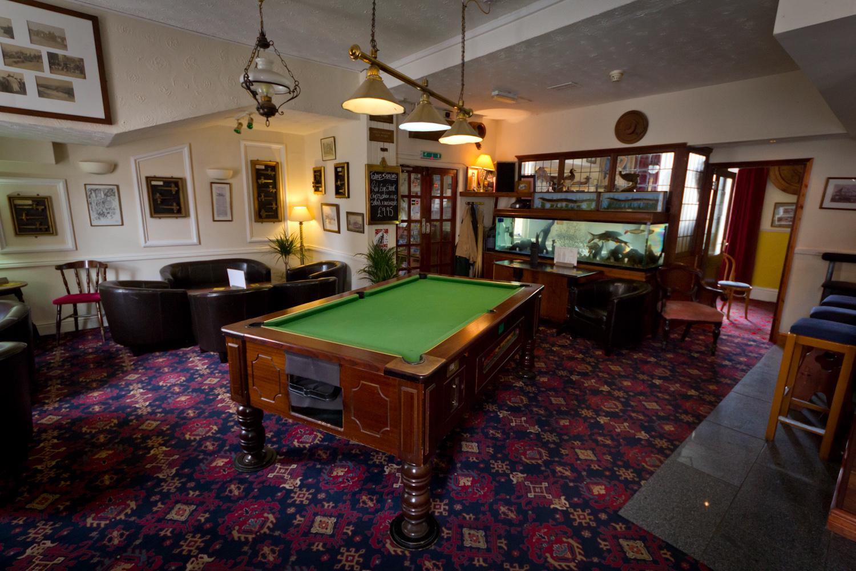 The Bar surroundings