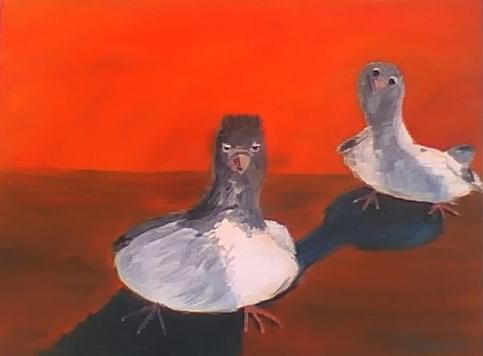 Two Birds - 11x14