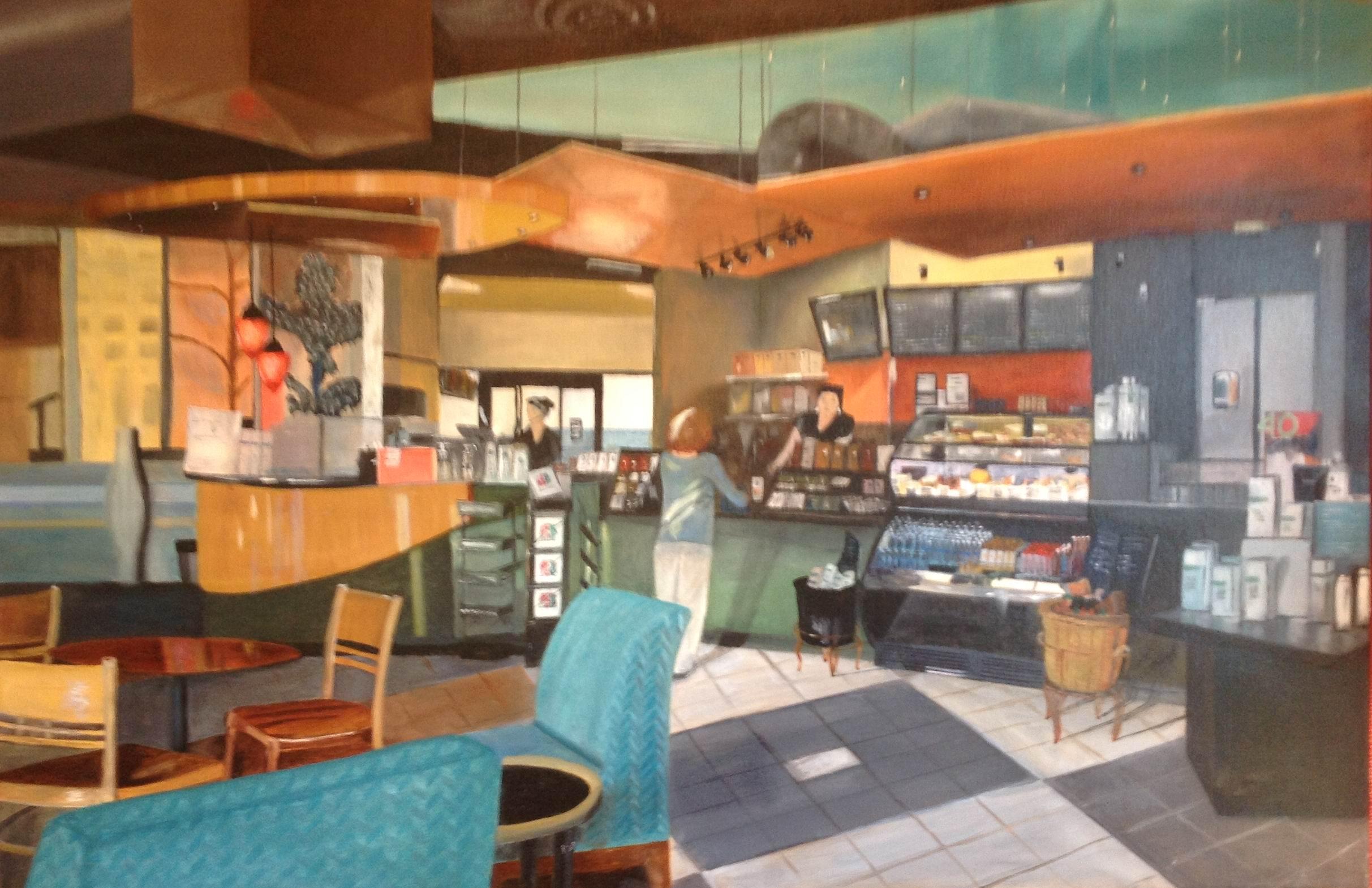 Cafe 2 - 24x36