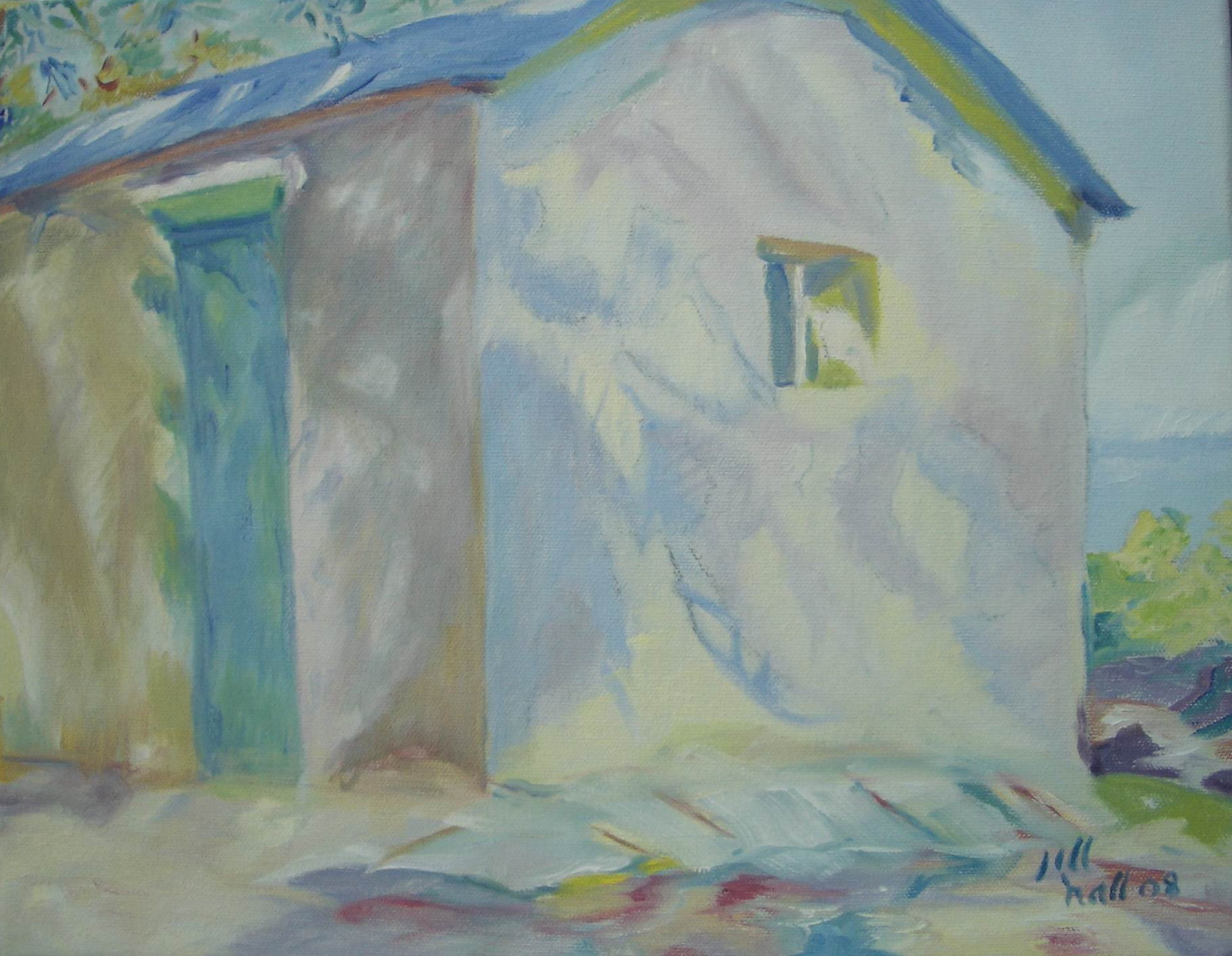 Sargent's Little Cottage - 11x14