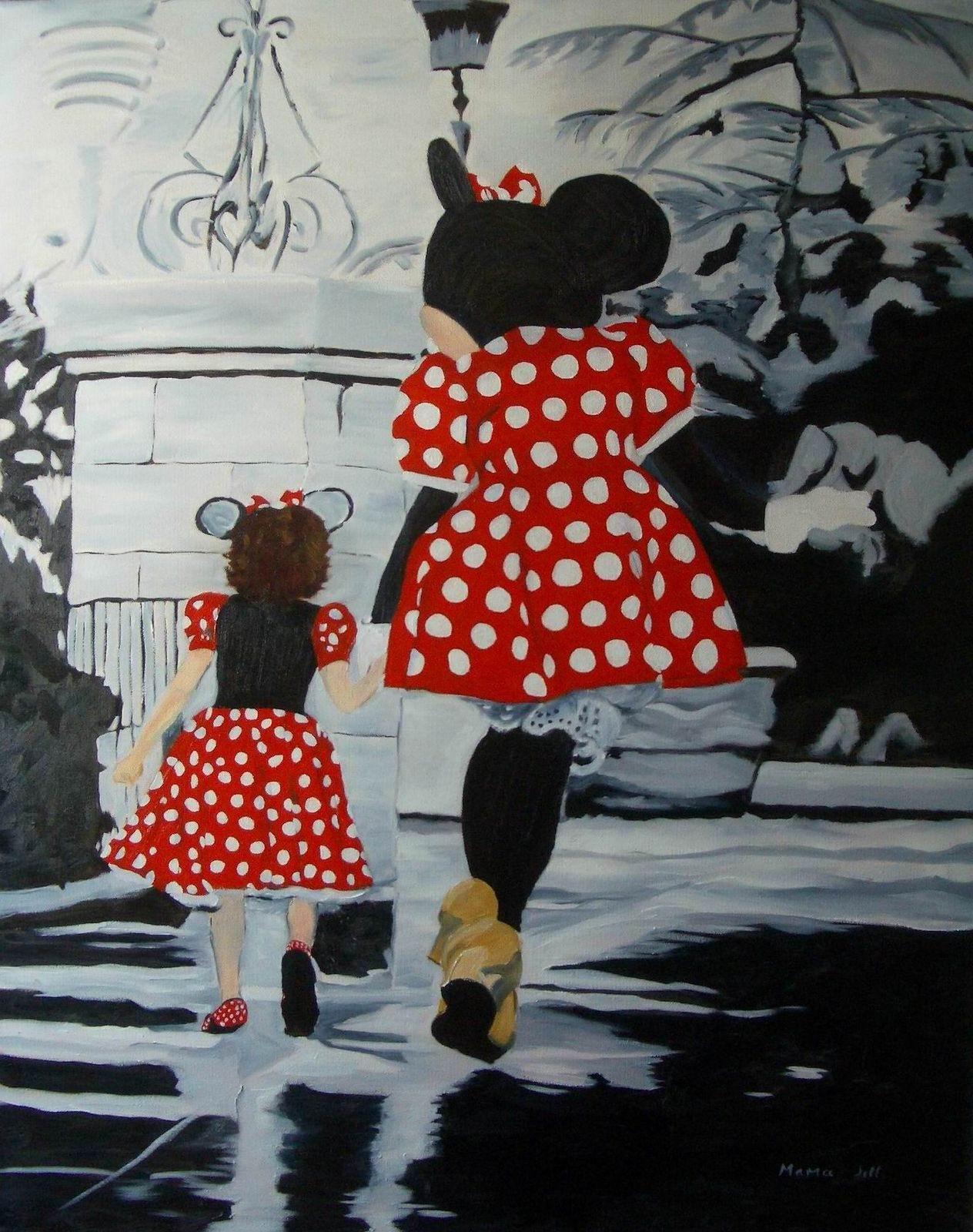 Madi & Minnie - 30x24