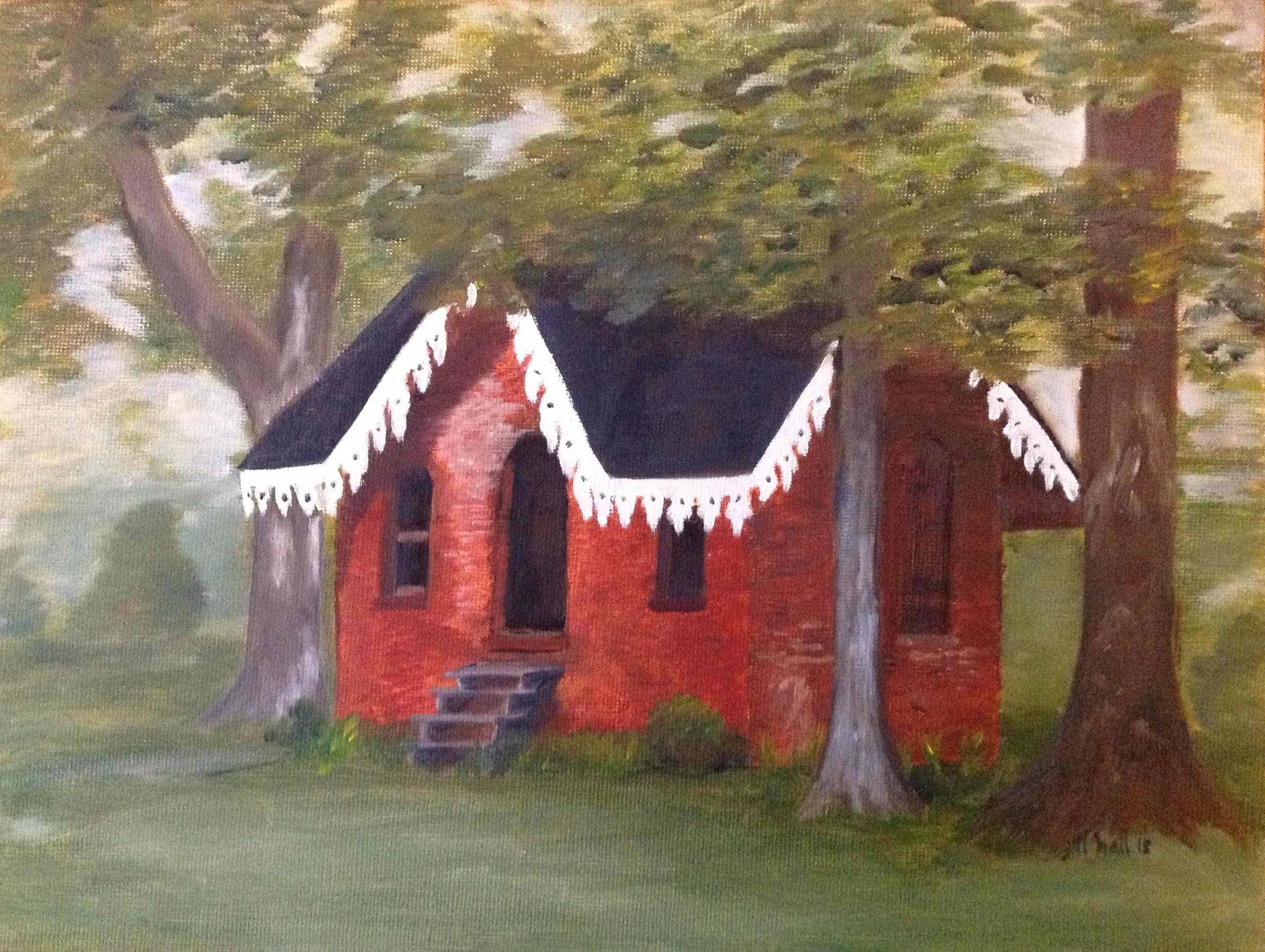 Homewood Smokehouse - 8x10