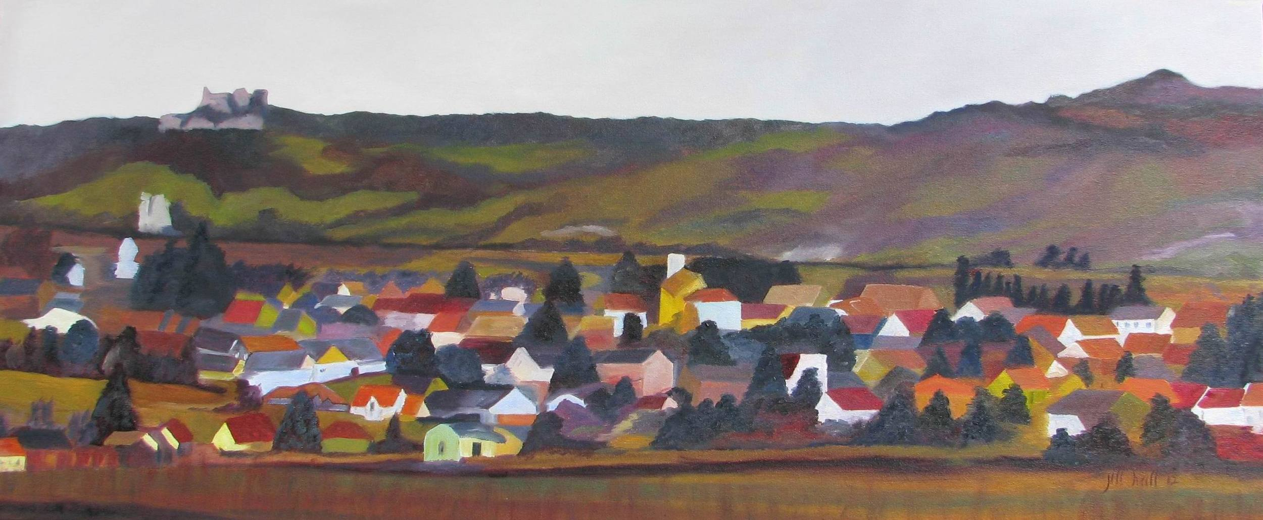 On the Road to Vienna - 15x30