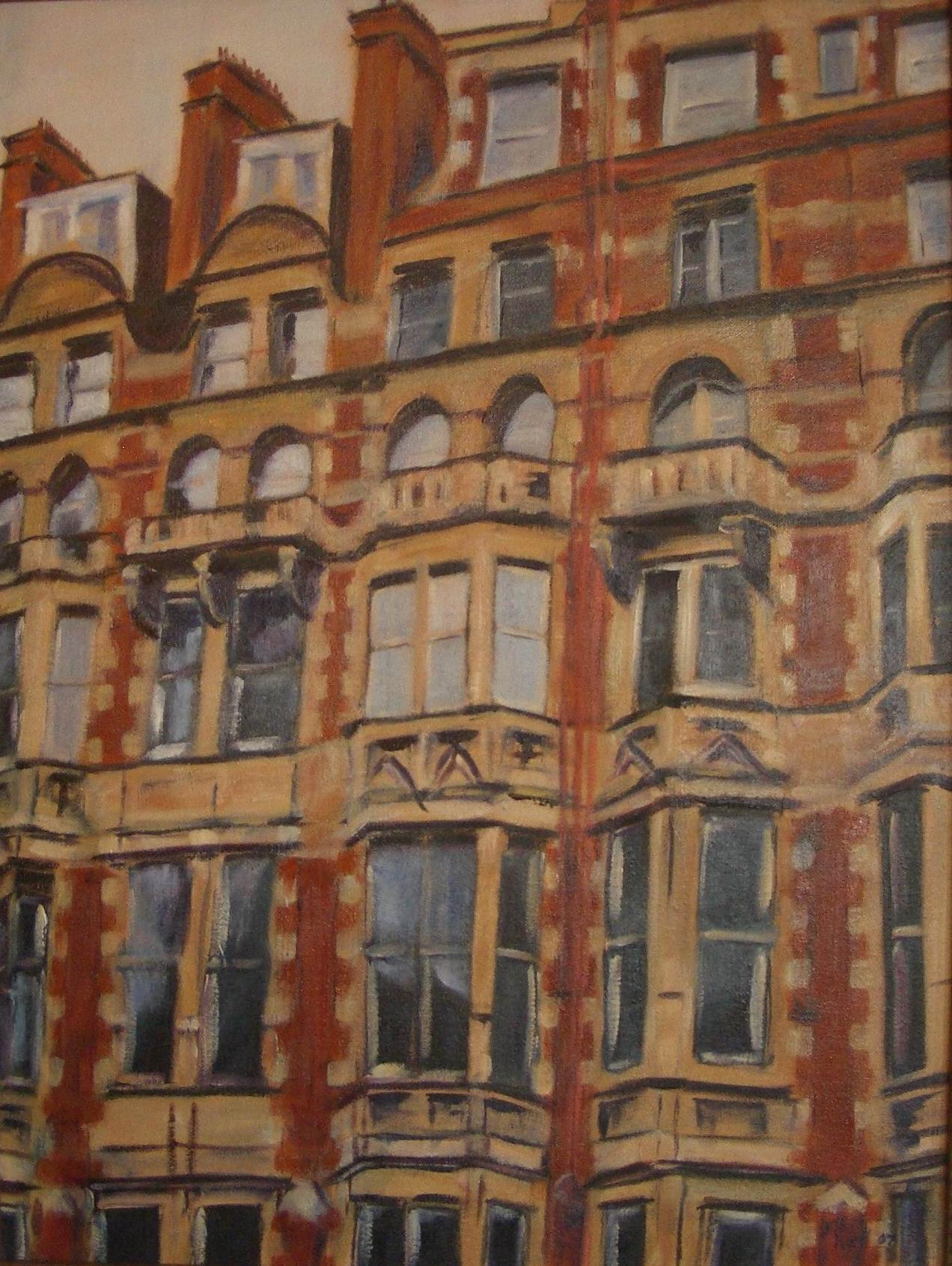 London Windows - 30x24