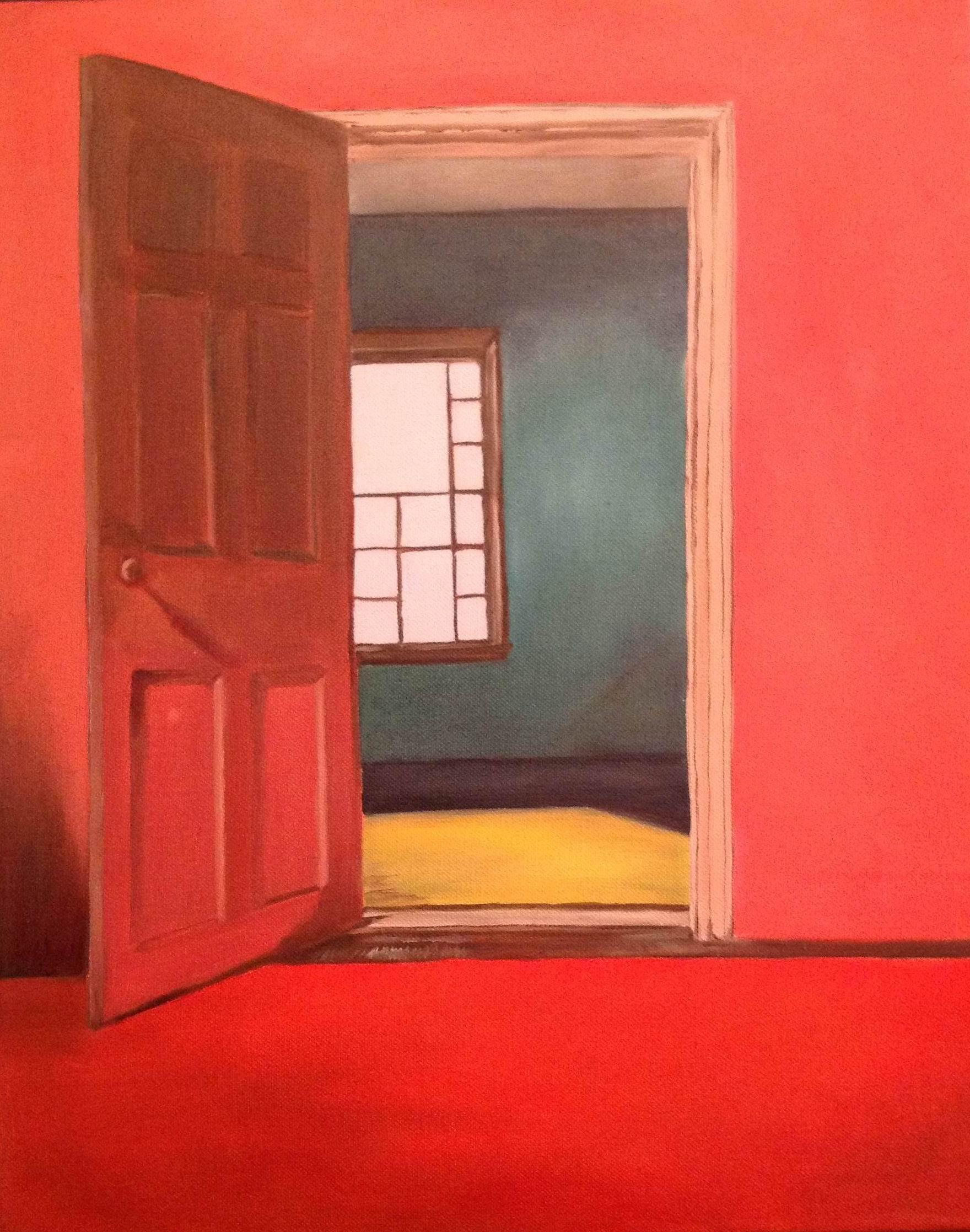 Red Door - 20x16