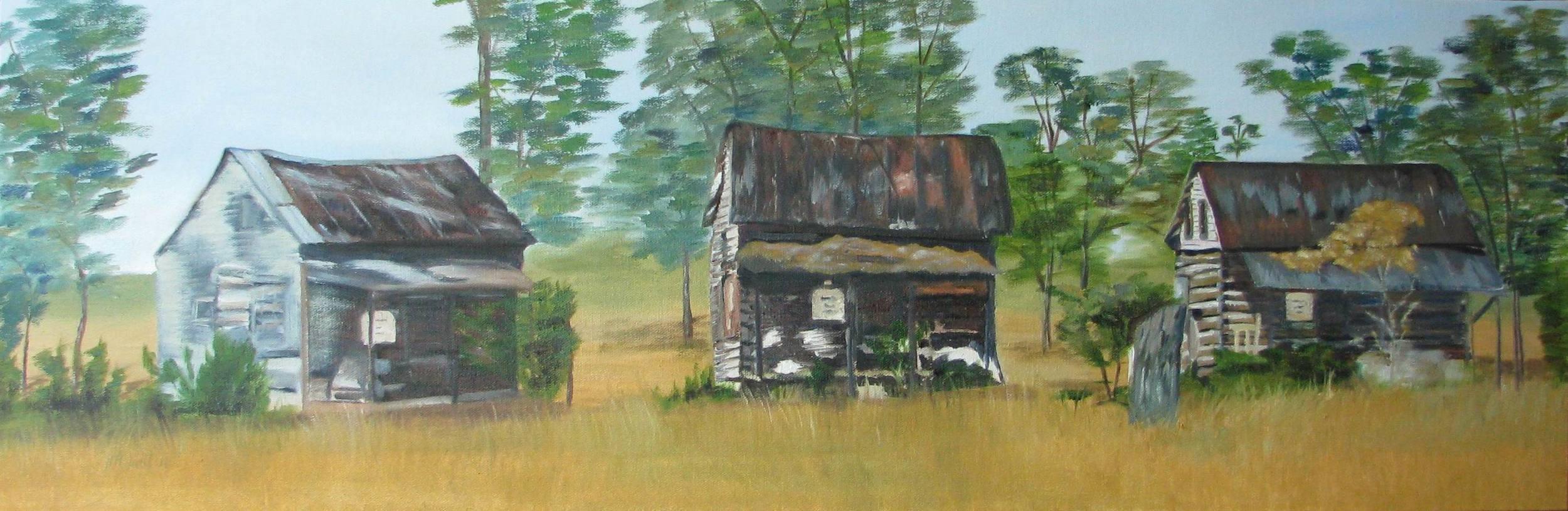 Alabama Slave Houses - 12x36