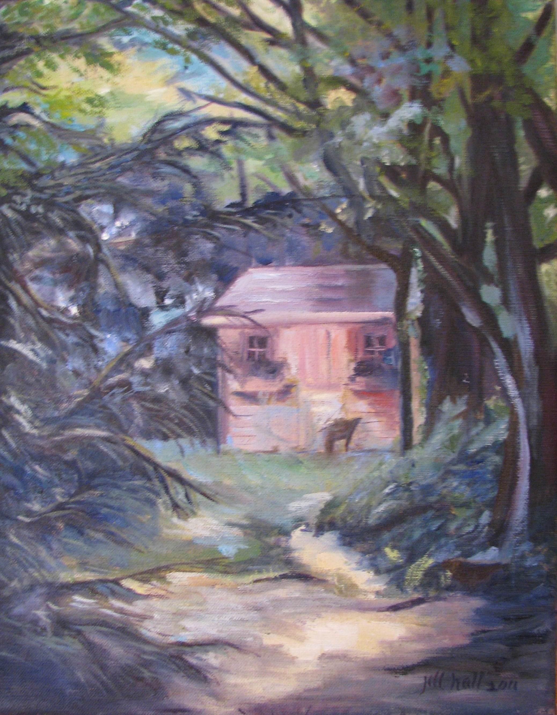 Tea Party House - 9x12