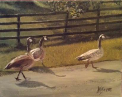 Geese - 8x10