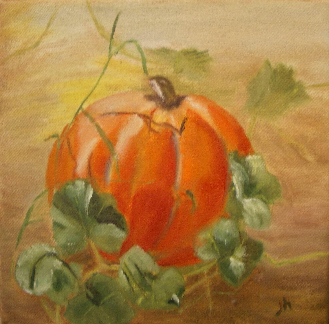 Anchorage Pumpkin - 8x8