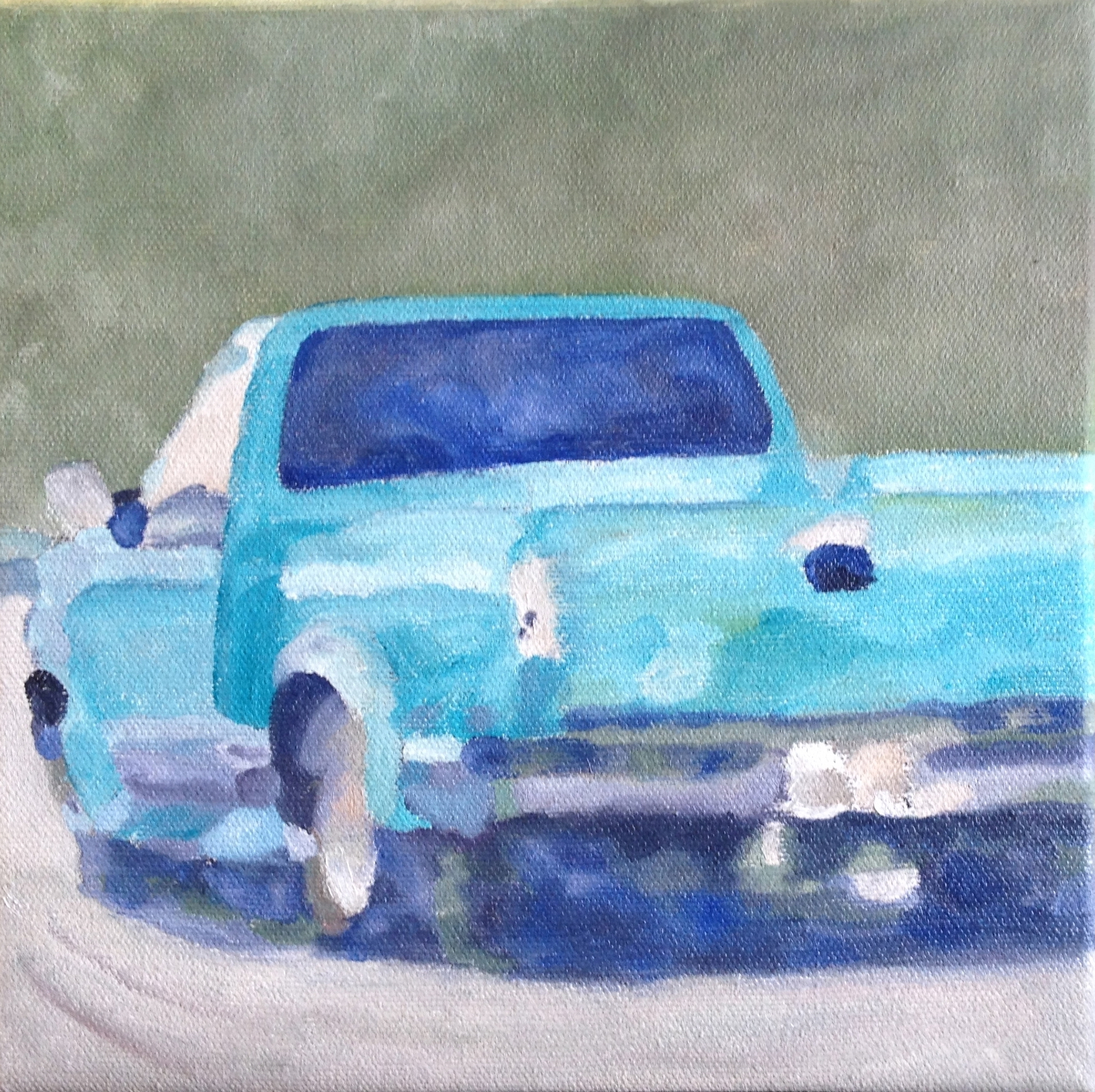 Turquoise Truck - 8 X 8