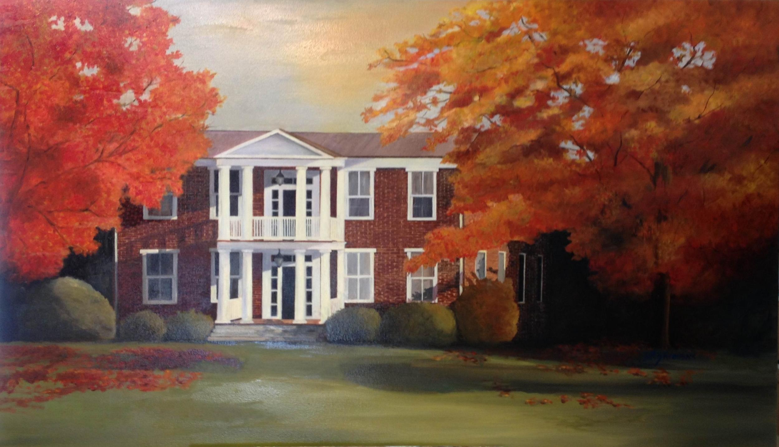 Family Home - Fall  28 X 48