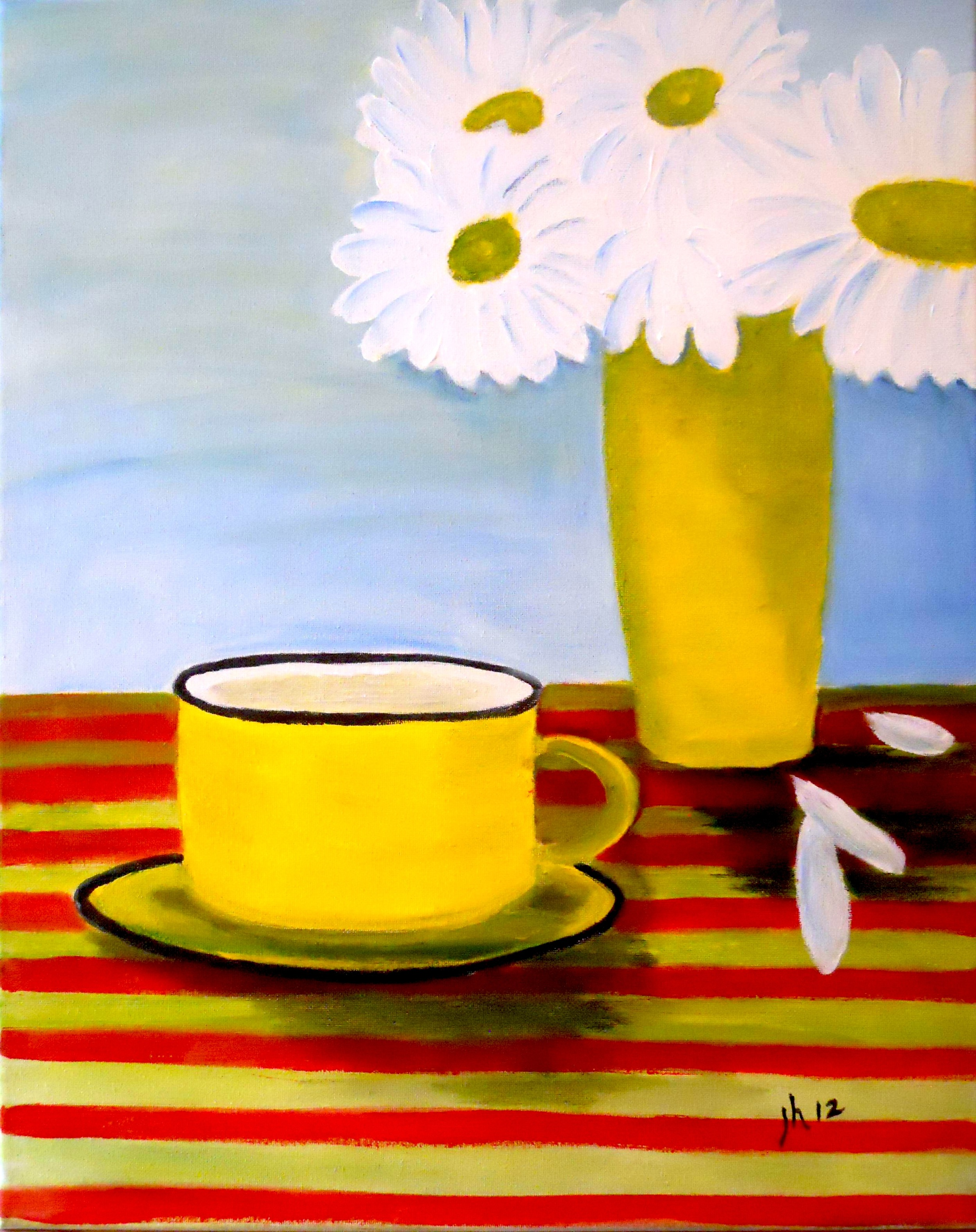 Coffee Cup with Daisies.jpg