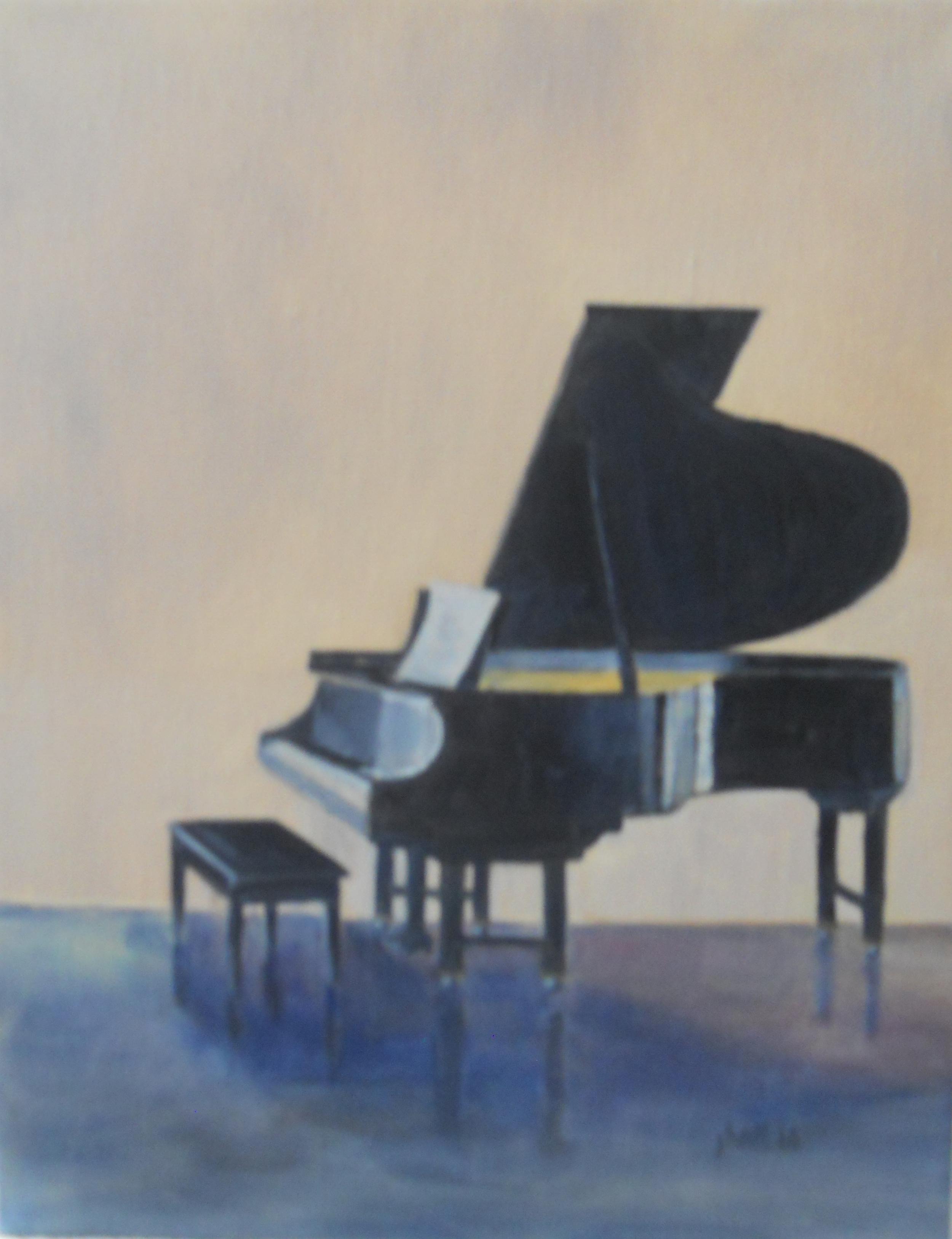 Weber Piano - 11 X 14