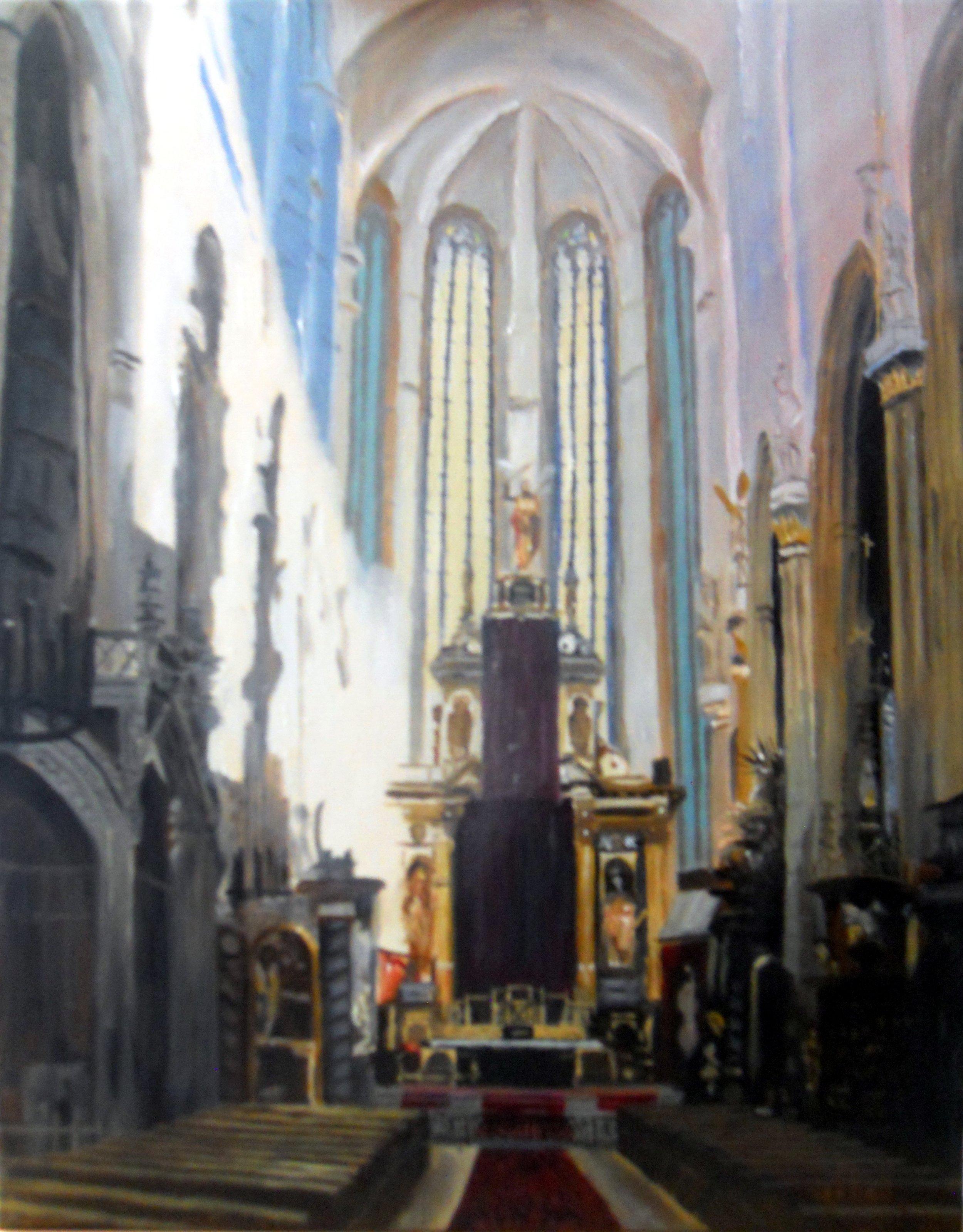 St. Nicholas Cathedral - Prague  16 X 20
