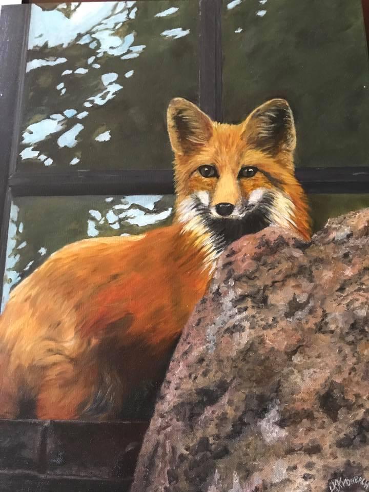Red Fox - 11X 14