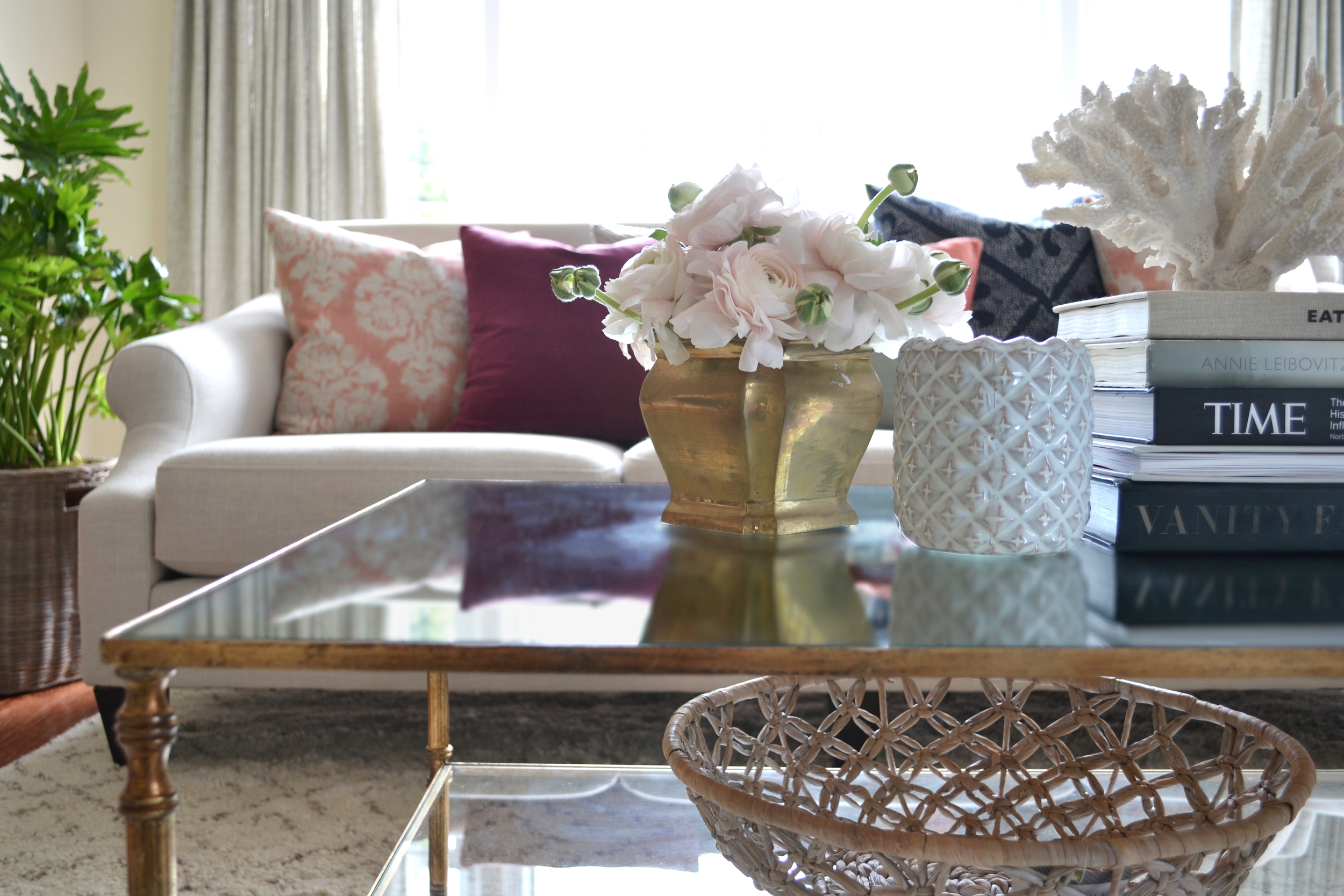 coffee table styling | rehabitat