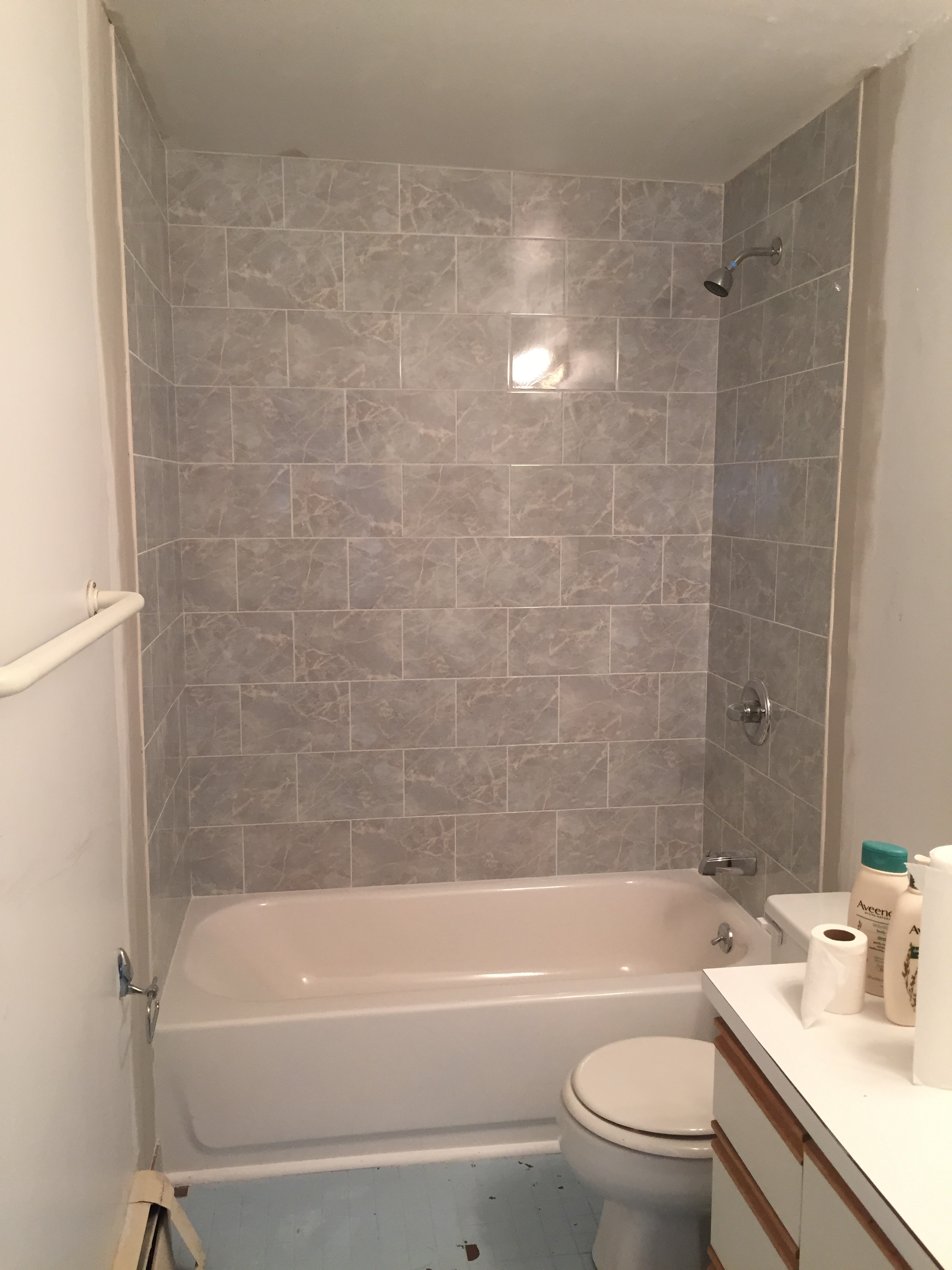 Before After A Rental Bathroom Rehabitat