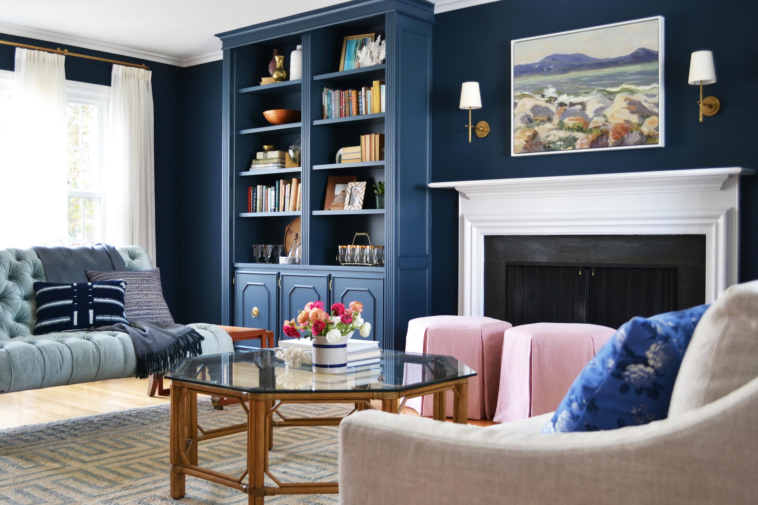 Mohawk Drive Living Room - Rehabitat