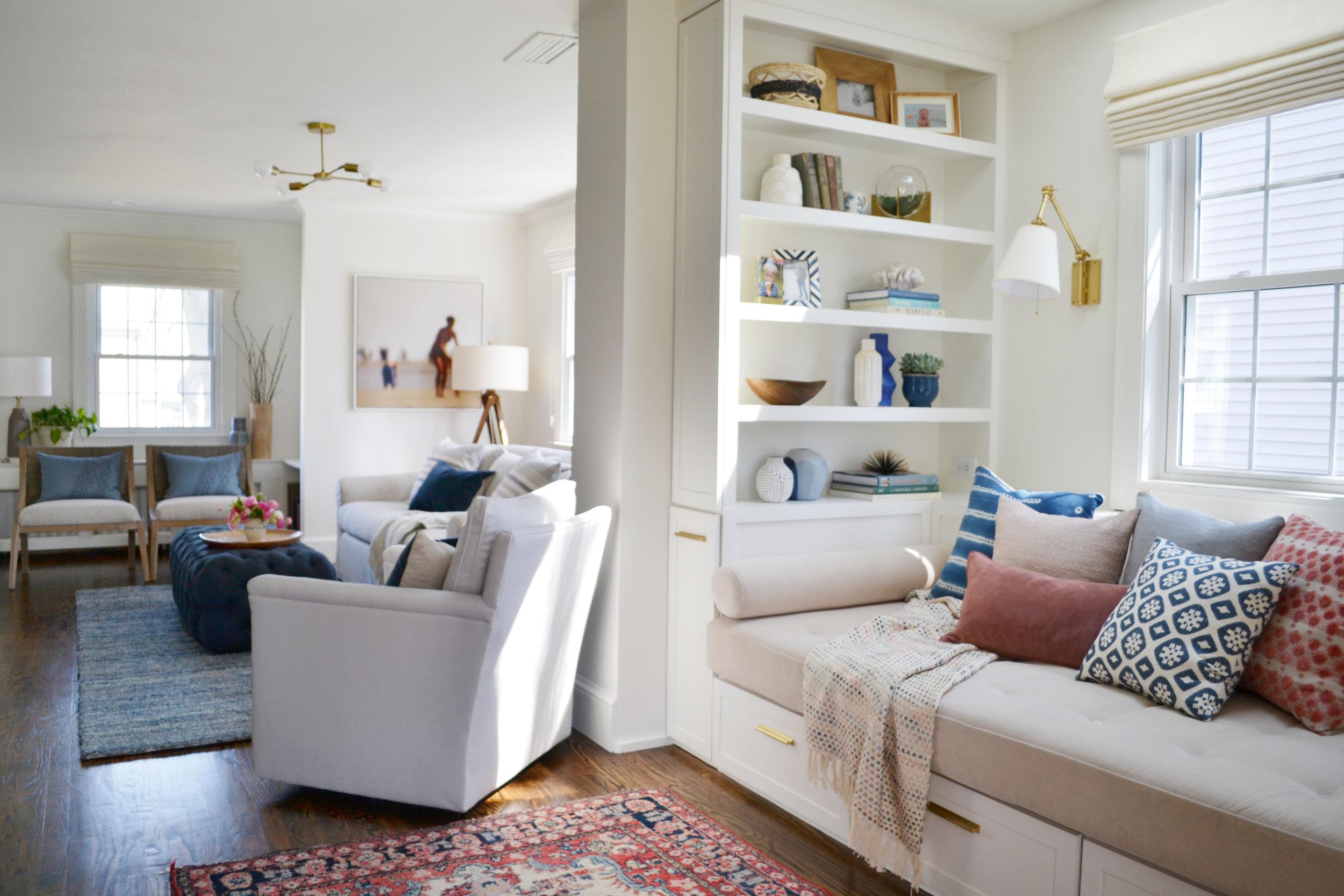 Middlefield Family Room - Rehabitat