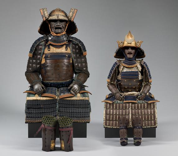 Japan, 19th century, metal, leather - image courtesy of the  Cincinnati Art Museum