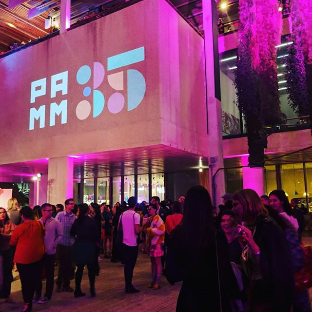 The lush, light-filled @pamm made for the most perfect Miami Art Week party. This place is magical and the night was alive with artists, performers, dealers, curators, and those who come because they are simply curious about what we do! #baseltov #abmb #artbasel #miamibeach