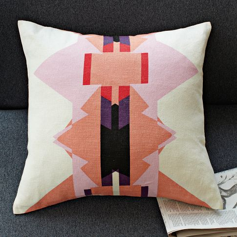 alyson fox triangle pillow
