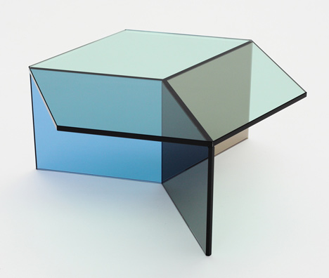 Sebastian Scherer Isom Glass Tables
