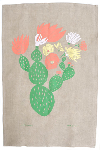 Cactus Tea Towel, Leah Duncan