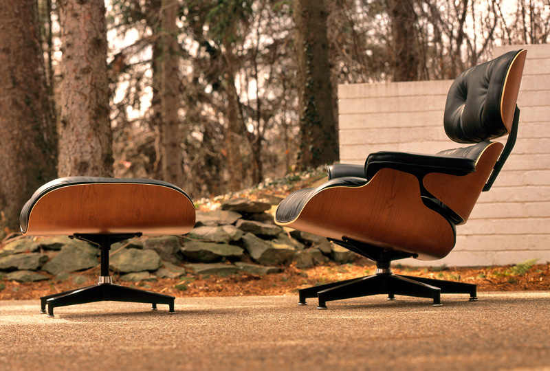 Eames Lounge Chair and Ottoman from Herman Miller