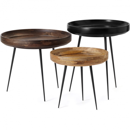 Mango Wood Bowl Table By Mater