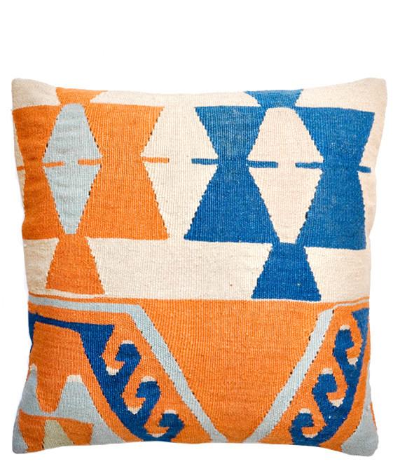 Kilim Pillow, Desert Ocean