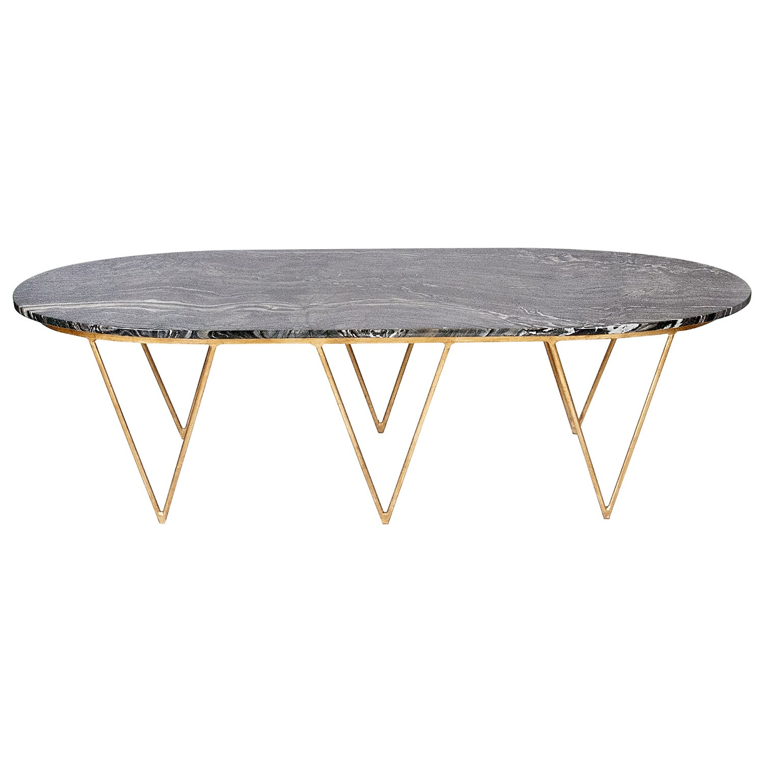 worlds away surf coffee table / zinc door