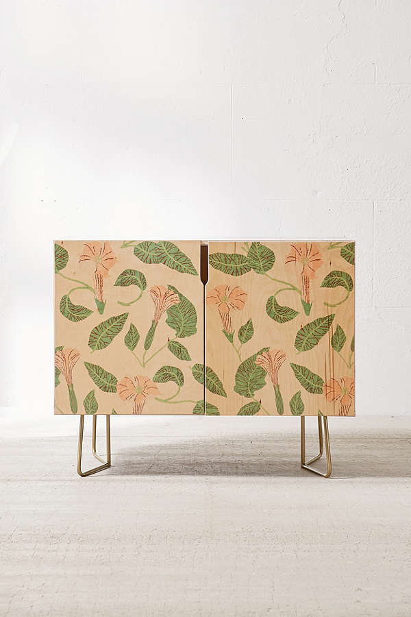 Holli Zollinger For Deny Desert Moonflower Credenza