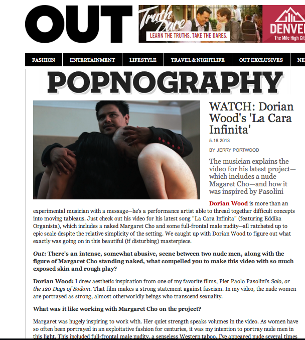 OUT MAGAZINE // NATIONAL LGBT MEDIA OUTLET