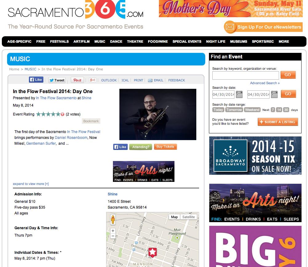 Sacramento 365 // Local Online - Agenda