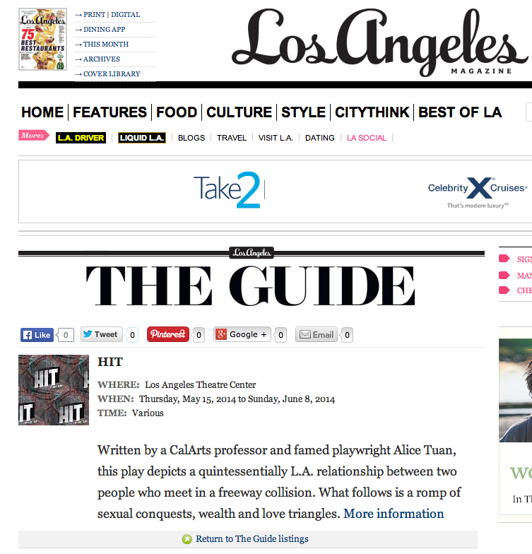 Los Angeles Magazine // Local Online
