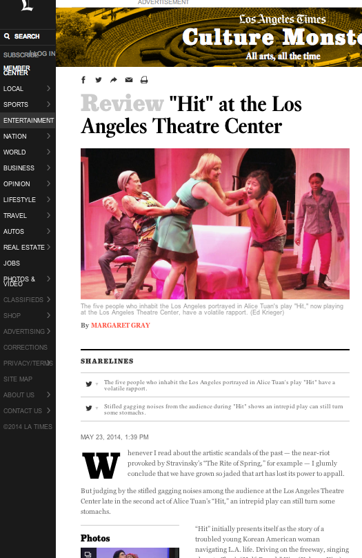 LA Times // Local Printed + Online