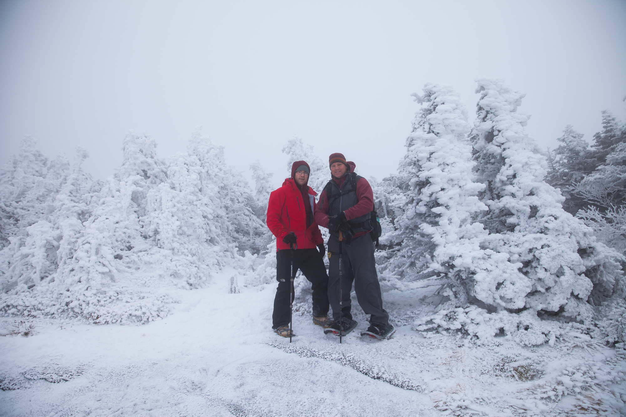 Aaron and me on Mount Colden Summit