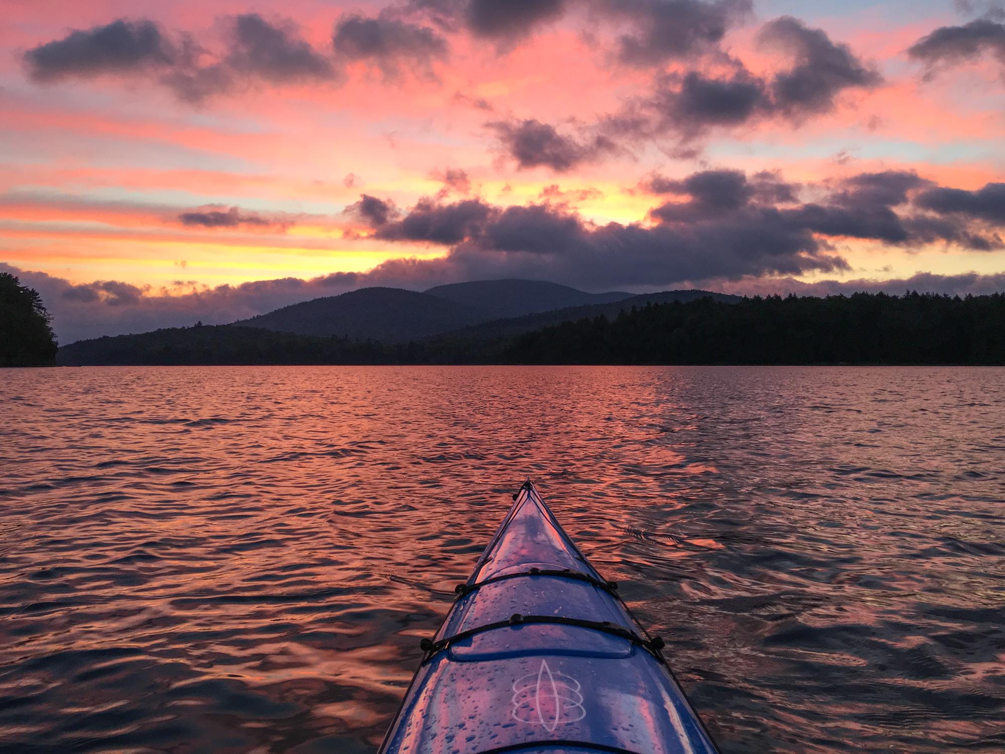 Early Dawn on Long Lake