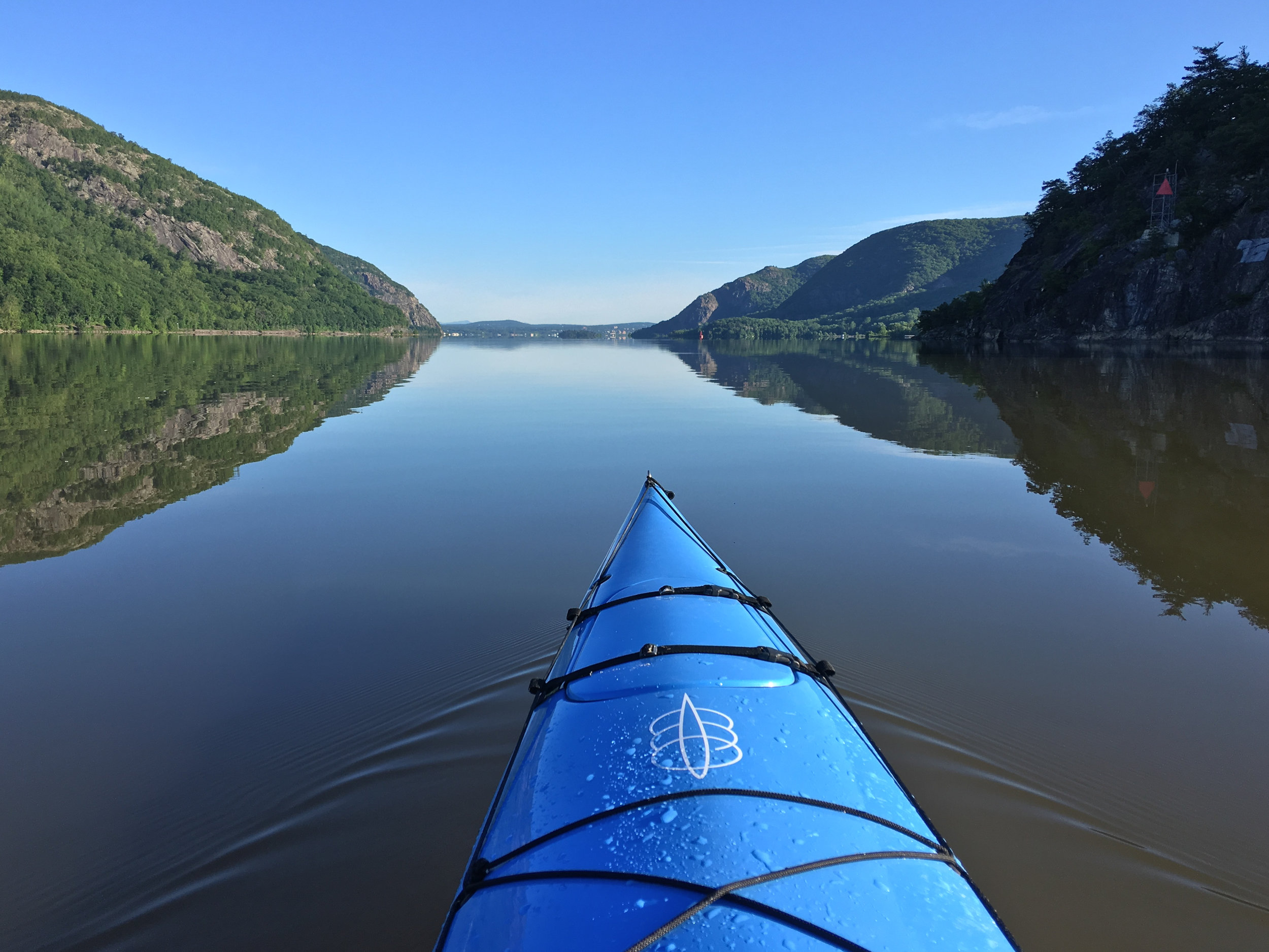 Hudson River on a Calm Day