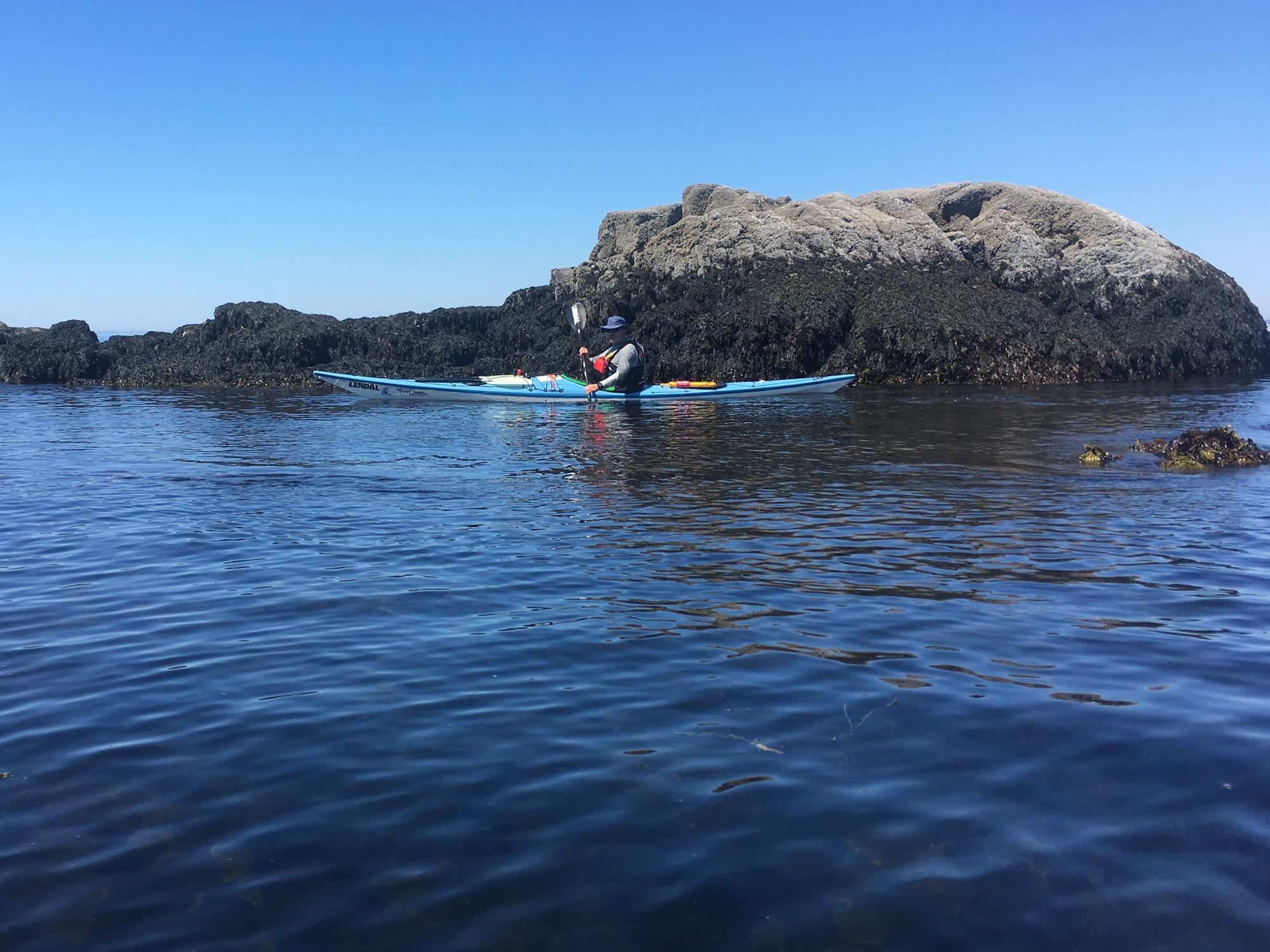 Jeff Kayaking