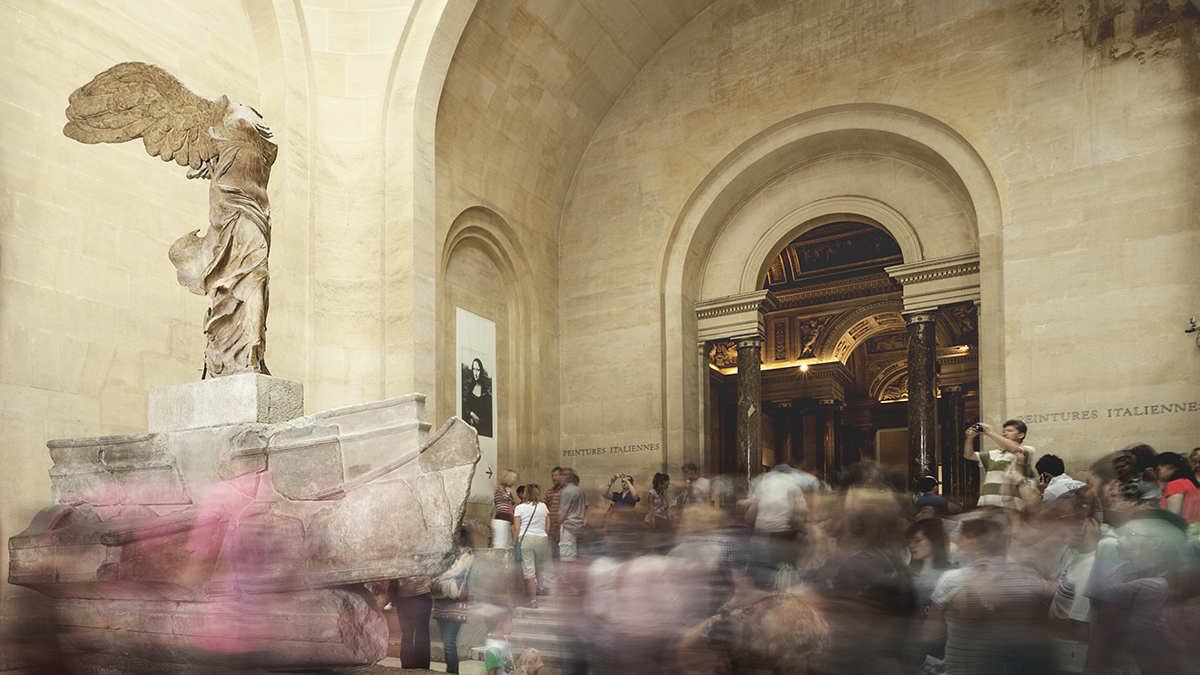 Winged Victory of Samothrace in the Louvre