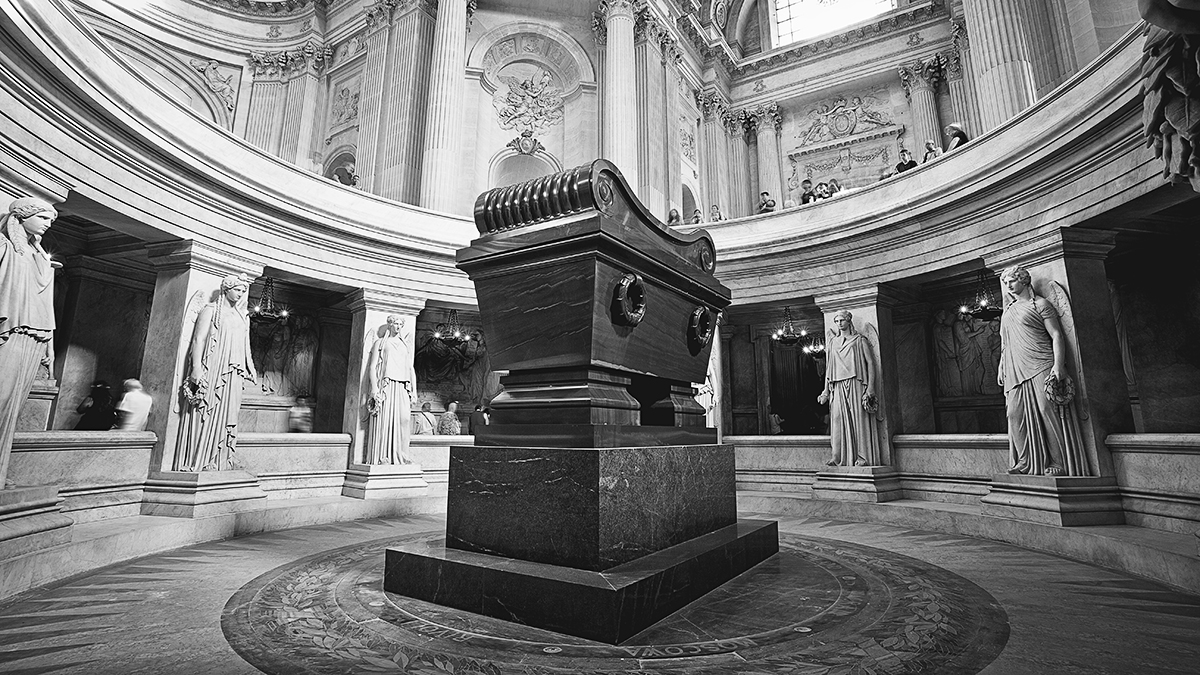 Here lies Napoleon