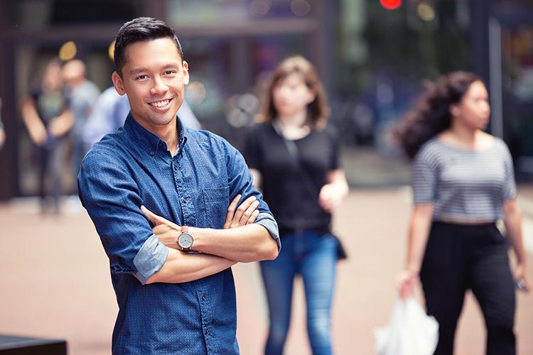 Brandon Yan – Program coordinator, Out in Schools