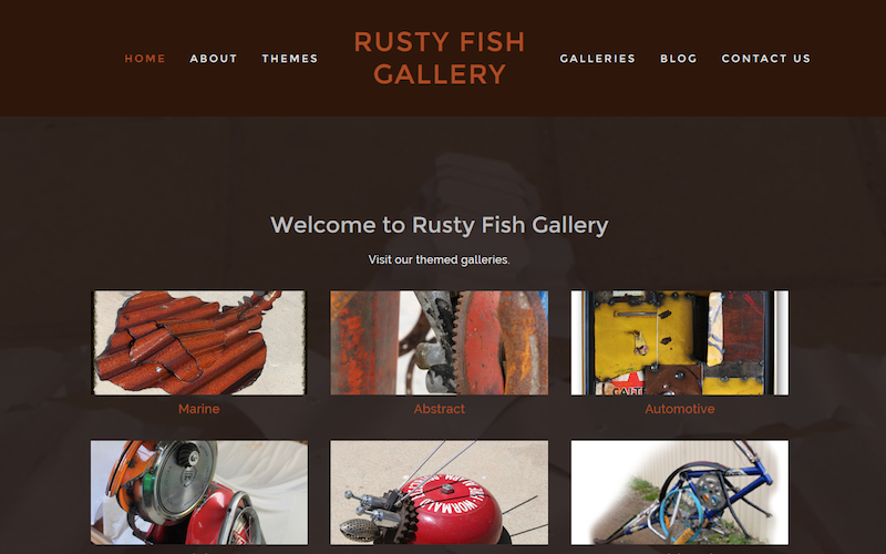 Rusty Fish Gallery