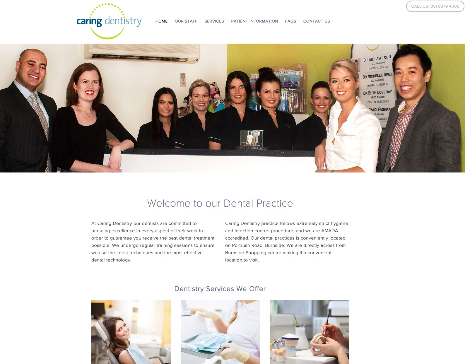 Caring Dentistry are a local customer of Llamablue  www.caringdentistry.com.au