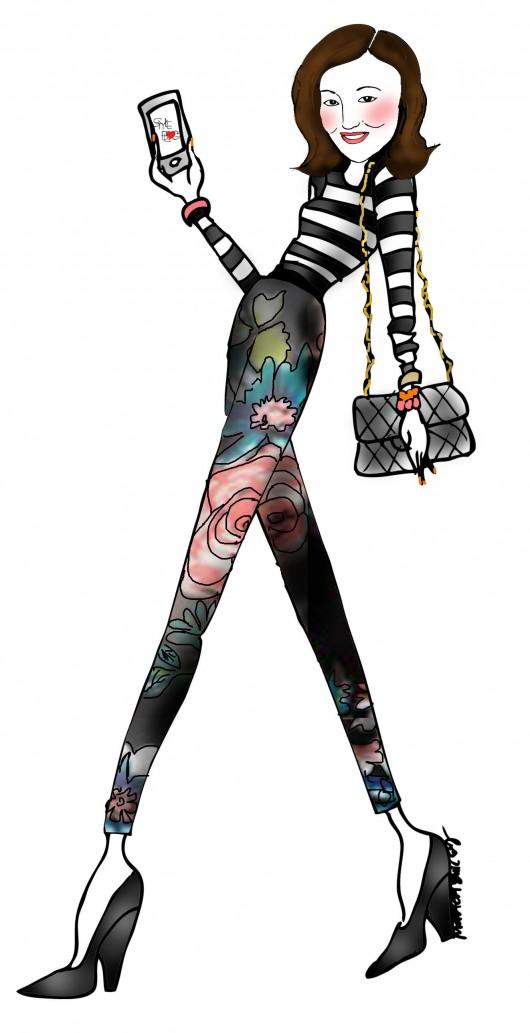 Illustration: Monica,  Eighty Seventh St .