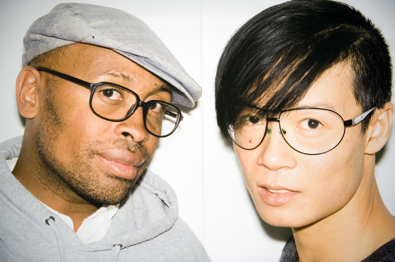 Kirk Pickersgill (left) & Stephen Wong.   Photo: Felix Wong.