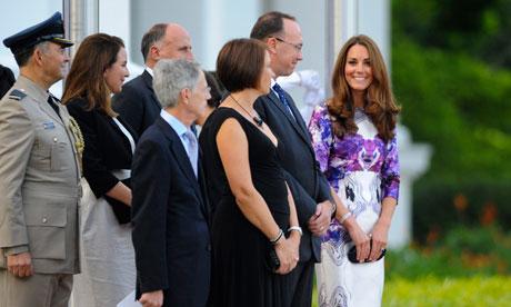 Duchess of Cambridge. Photo:  The Guardian .